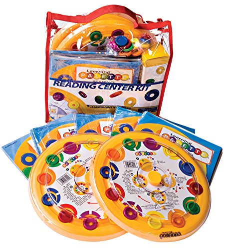 (LEARNING WRAP-UPS SELF-CORRECTING Kindergarten 2 Reading Palette Bases)