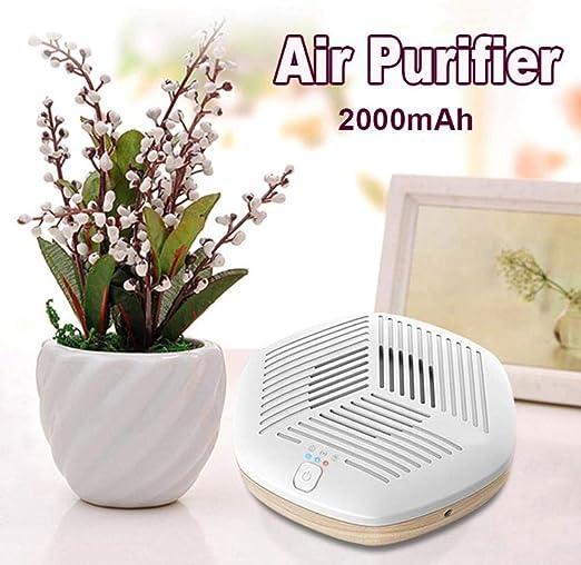 HomAlLove Mini purificadores de Aire portátiles Generador de ozono ...