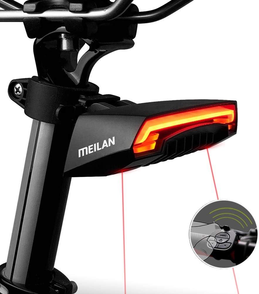 NEW Bicycle Bike Light Rear Tail Cycling Safety Warning Flashing Lamp HE-80 SWLF