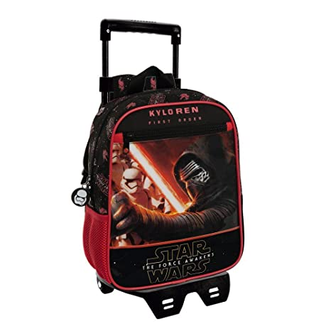 Disney Star Wars Mochila Infantil, 6.44 Litros, Color Negro