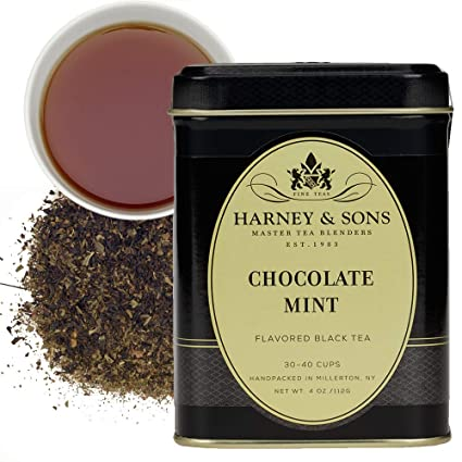 Harney & Sons Chocolate Mint Black Tea