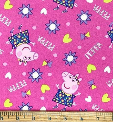 1 yard Peppa Pig Fabric