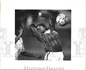 Historic Images - 1994 Press Photo Holmes and Edison High School Girls Soccer Players at Game