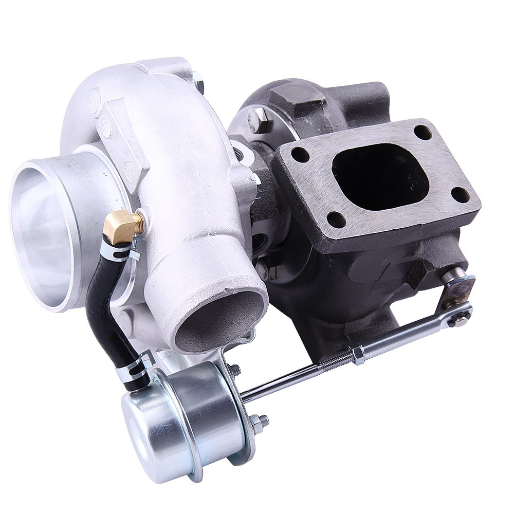 maXpeedingrods GT2871 GT2860 T25 Universal Turbocompresor Turbo Cargador Agua & Aceite 400BHP 1.8L-3.0L AR0.64: Amazon.es: Coche y moto