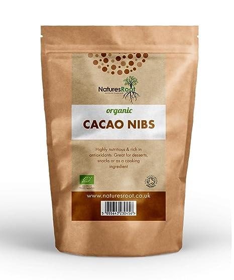 Natures Root biológico Cacao Nibs – La Criollo Art | fabricada de los Excelentes tigsten granos