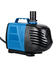 Pawfly 1000 GPH Submersible/Inline Water Pump with 10' Cord for Pond Pool Fountain Aquarium Fish Tank