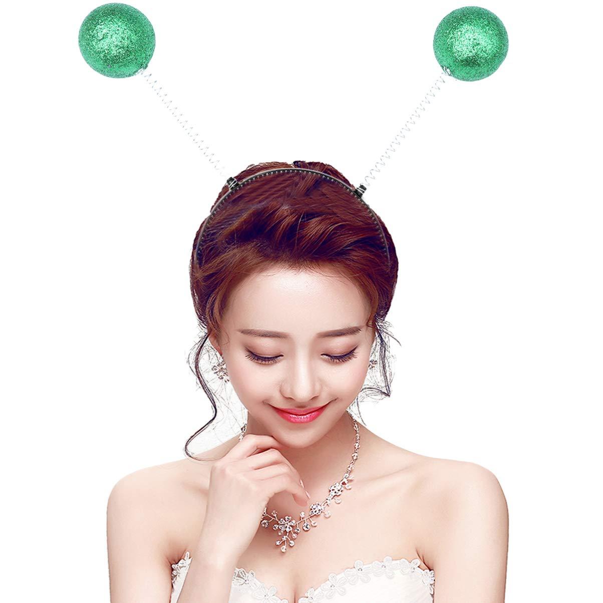 Holibanna puntelli foto di antenna martian boppers fascia in schiuma palla primavera aliena copricapo copricapo