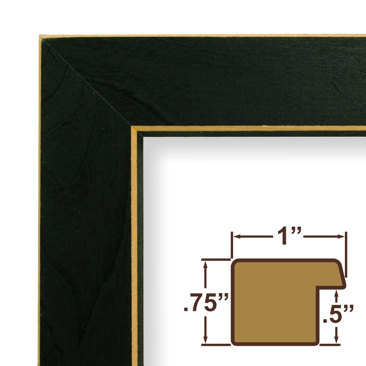 Amazon.com: 12x20 Picture / Poster Frame, Wood Grain Finish, 1\