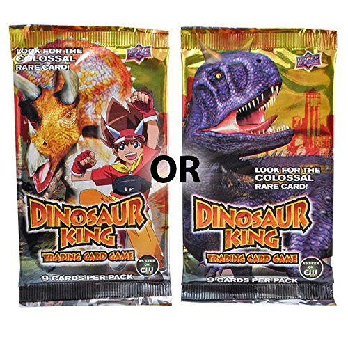 Dinosaur King Trading Card Game Booster