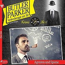Agenten und Spione (Butler Parker 1) Hörbuch von Günter Dönges Gesprochen von: Thorsten Breitfeldt