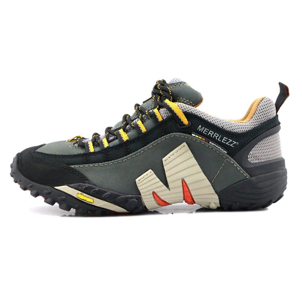 gris Chaussures De Course pour Le Cross-Country pour Hommes Et pour Femmes Chaussures De Fitness D'extérieur Décontractées Et Légères 44=43