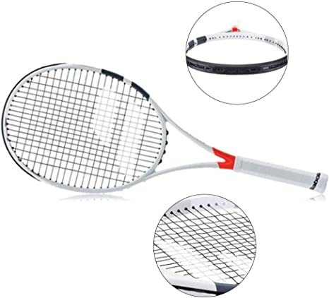 Amazon.com: Tennis racket Full Carbon Men and Women Sports Single  Professional Training Racket,White-a-69cm/27inches: Home & Kitchen