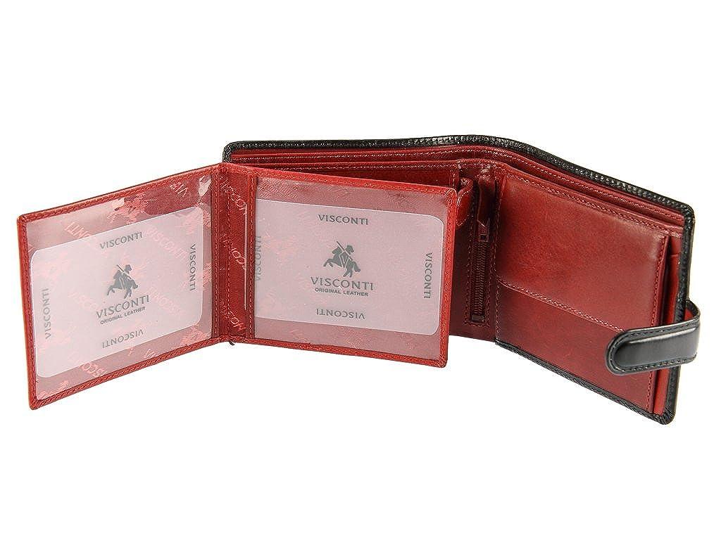 Amazon.com: Visconti tr-35 Classic Tri Fold Wallet/ID ...