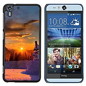 Queen Pattern - FOR HTC Desire EYE M910x - Sunset Beautiful Nature 46 - Cubierta del caso de impacto con el patr???¡¯???€????€?????n Art De