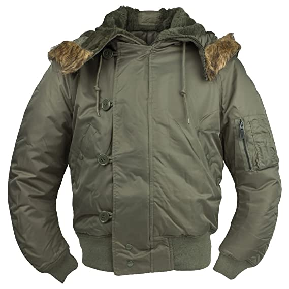CamoOutdoor N2B ECW ejército Snorkel Parka chaqueta para ...