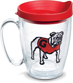 Tervis 1257472 Coffee Mug With Lid 16 oz Clear