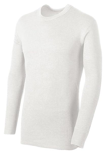 0c1b82c2 Champion Duofold Thermals Men's Long-Sleeve Base-Layer Shirt_Winter White_S  at Amazon Men's Clothing store: