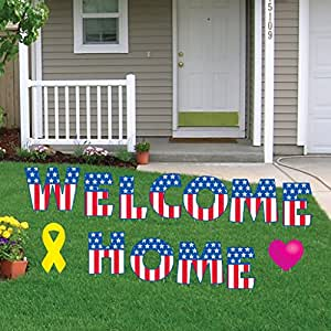 Amazon.com: VictoryStore Yard Sign Outdoor Lawn ... on Backyard Decorations Amazon id=41177