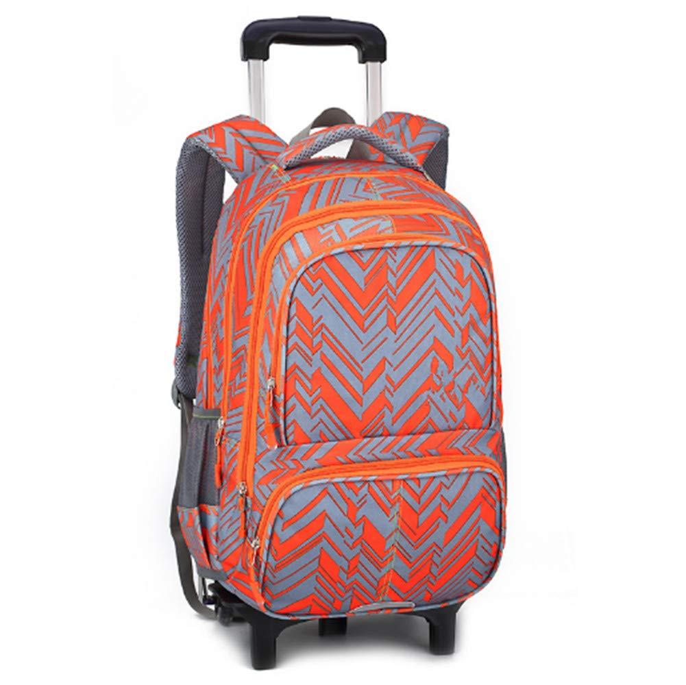 e7bd8908cc Sacchetto di Scuola di di di rossoolamento di Viaggio dei Bambini Con a  Ruote(arancia 2 Ruote) b0d56c