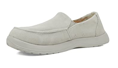 e95b7a12cd2b SoftScience The Frisco Men s Canvas Slip-On Shoes - Light Gray