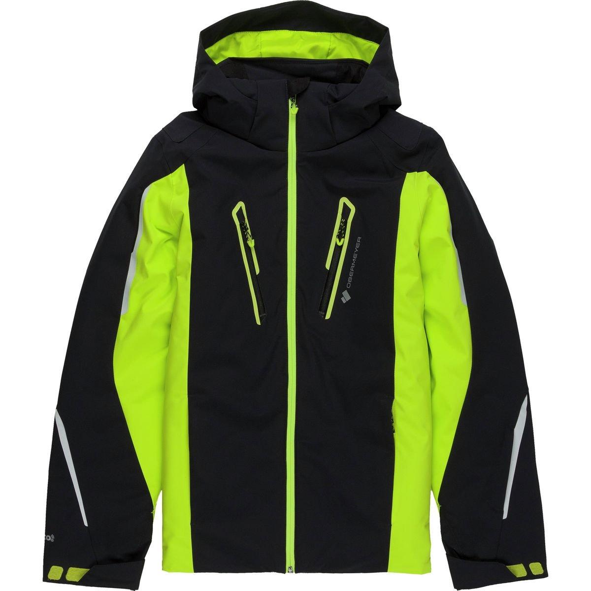 Obermeyer Kids  Boy's Mach 8 Jacket (Little Kids/Big Kids) Green Flash X-Large
