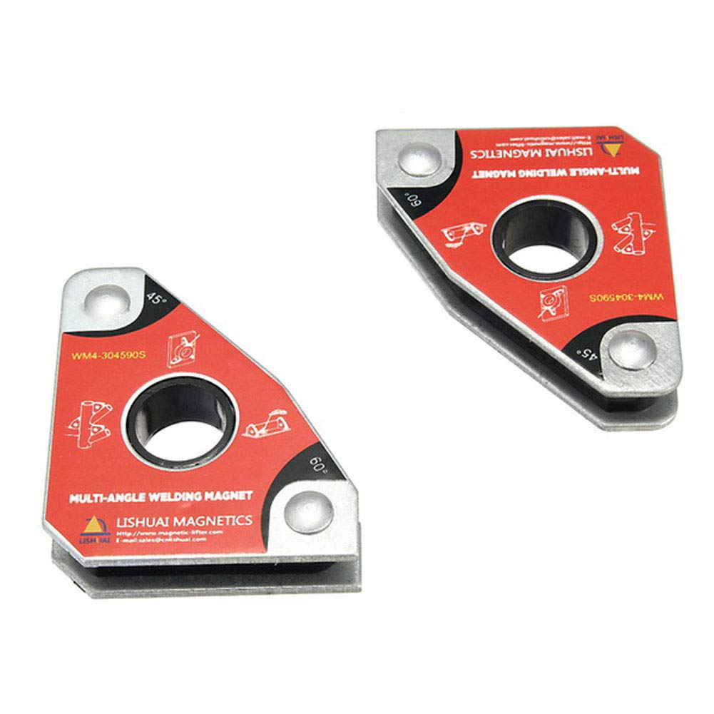 Welding Magnet Multi-Angle Mini Welding Magnetic Clamping Tools for Holding with Twin Pack