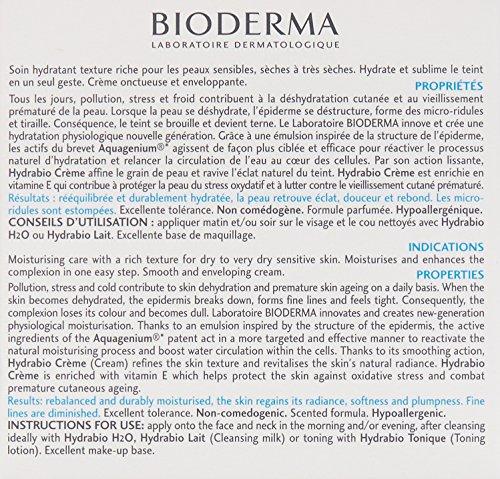 Bioderma Hydrabio Cream, 1.69 Fl Oz