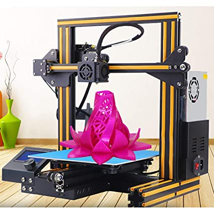 Amazon.com: YJJ Mini impresora 3D para ABS y PLA V ranura ...