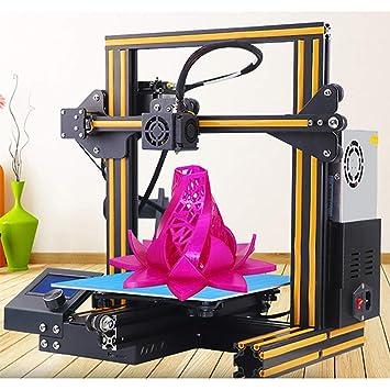 XLST Mini Impresora 3D para ABS Y PLA Ranura V Currículum Poder ...