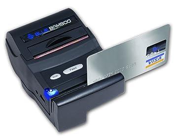Amazon.com: Azul Bambú p25i-m Portable Bluetooth Impresora ...