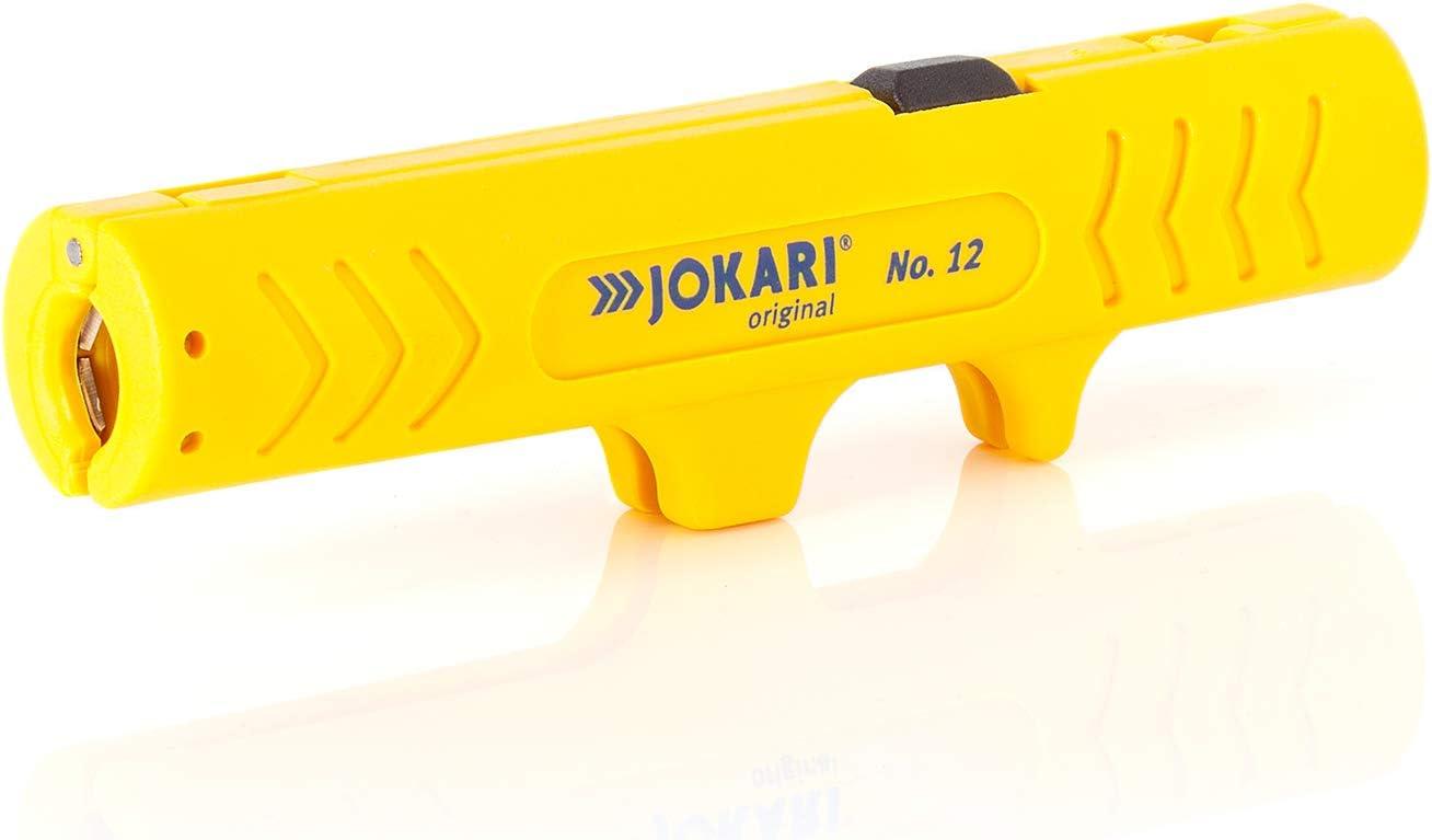 JOKARI Abisolierer Allrounder Kabel Messer für Elektro Installation Leer Dosen