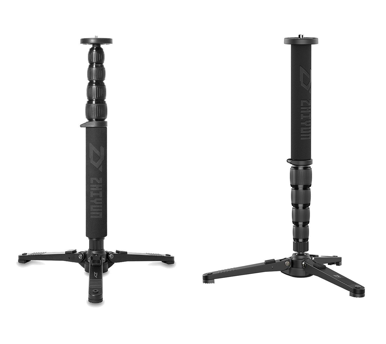 Zhiyun Telescopic Monopod Selfie Stick with Tripod Stand for Crane 2, Crane Plus, Crane V2, Crane-M,DSLR Canon Nikon SONY Camera Including Carrying Bag