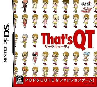 amazon that s qt ザッツ キューティー ゲームソフト