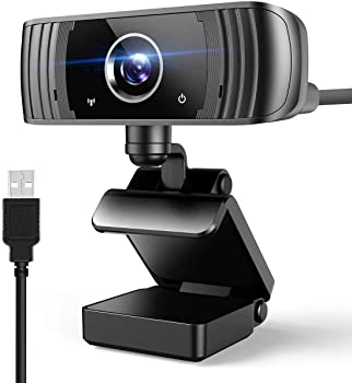 Tesoky 1080p 30 FPS 4MP USB Webcam with Microphone