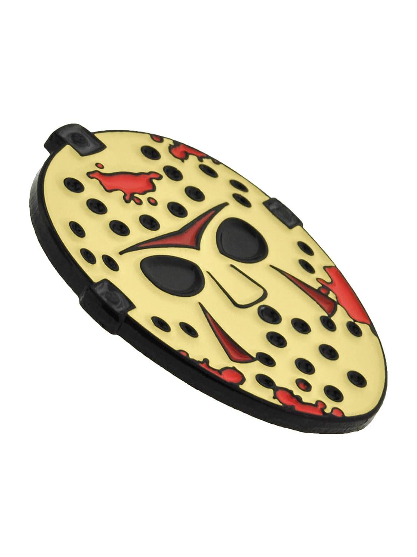 Amazon.com: PinMart Hockey Mask Slasher Halloween Horror ...