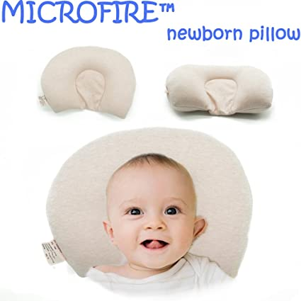 MICROFIRE recién nacido bebé almohada bebé Jefe Moldeador de ...