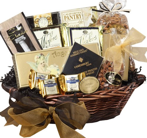 With Heartfelt Sympathy Gourmet Food Gift Basket - Medium SUMMER