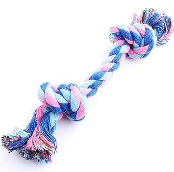Hosaire 1x Hundespielzeug Seil Kordel aus Baumwolle für Spielen und ...