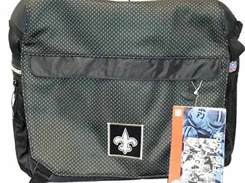 NFL Sport Messenger Bag, ''New Orleans Saints'' NEW by THE SACK