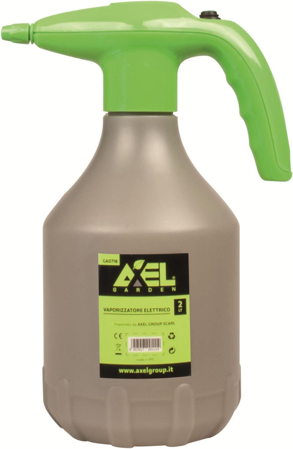 AXEL. Bomba a presión a batería lt. 2pulverizador Botella pulverizadora Bomba Pulverizador