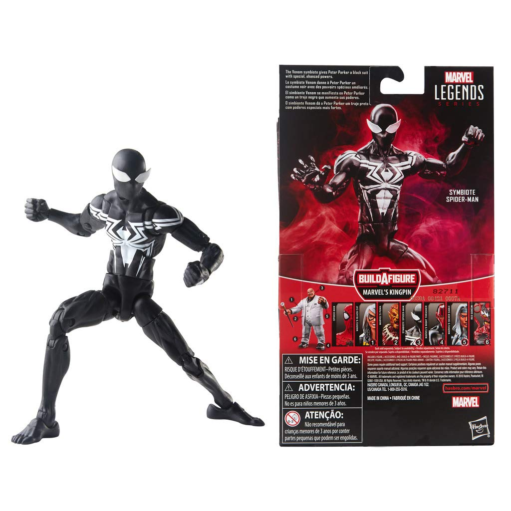 Amazon.com: Spider-Man Legends Series 6-inch Symbiote: Toys ...