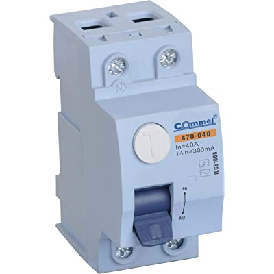 –Interruptor diferencial (101620253240B Fusible automático (disyuntor, 40A 300mA 2 - Polig