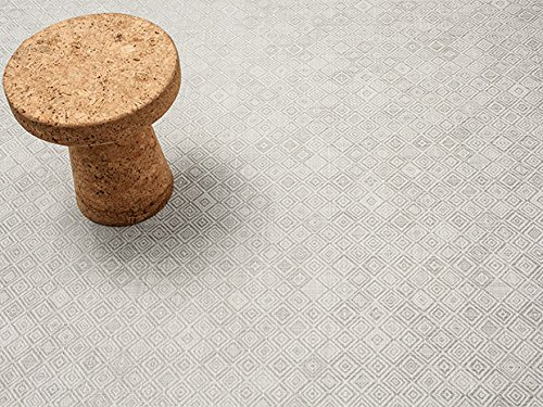 Chilewich Mosaic Woven Floor Mat in Grey Color 26'' x 72'' by Chilewich