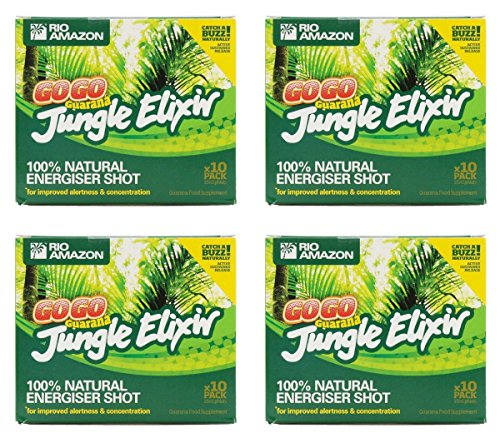 Rio Amazon Rio Trading Guarana Jungle Elixir 10 X Single Phial Pack 15 X 10... 10 x 15ml Phial by Rio Amazon