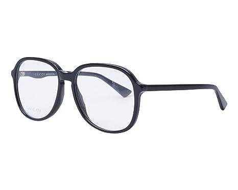 f2f72e9c25 Amazon.com  Eyeglasses Gucci GG 0259 O- 001 BLACK    Clothing