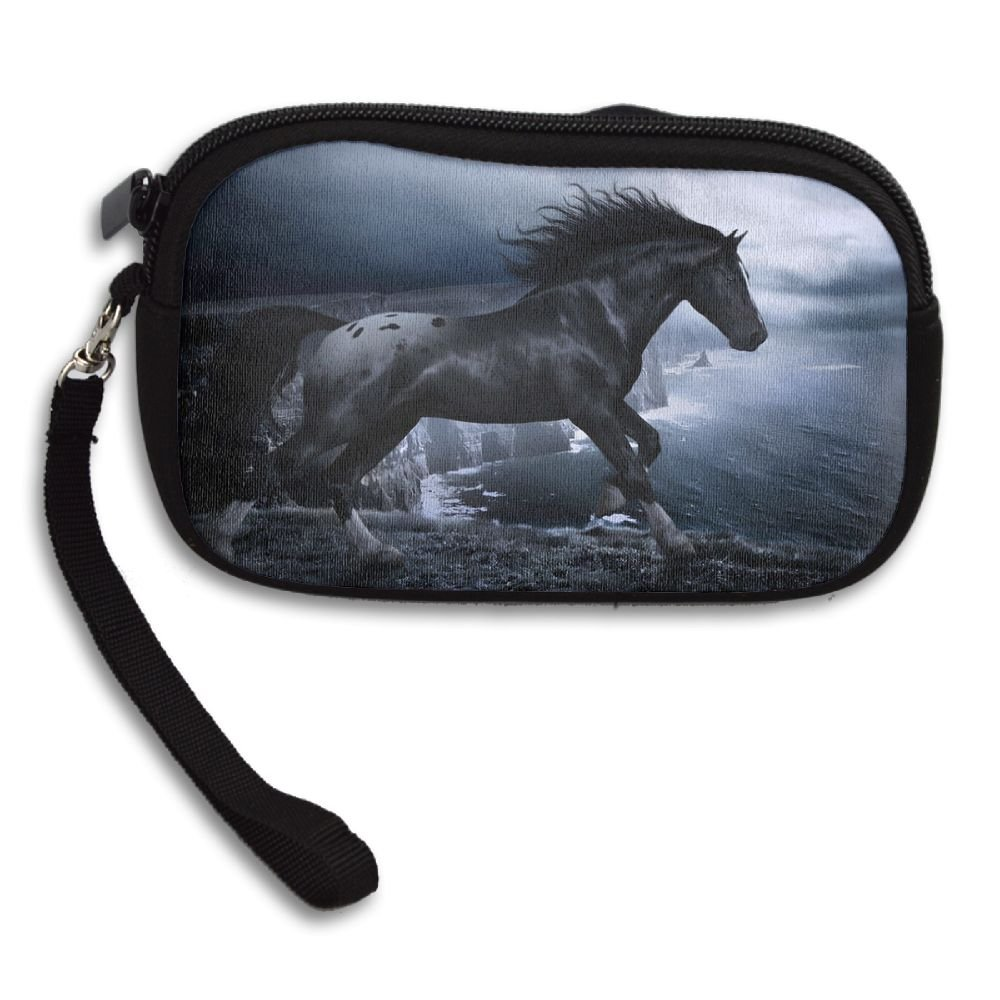 Personalized Custom Coin Purse with Fantasy Horse Image Printing Two Sides