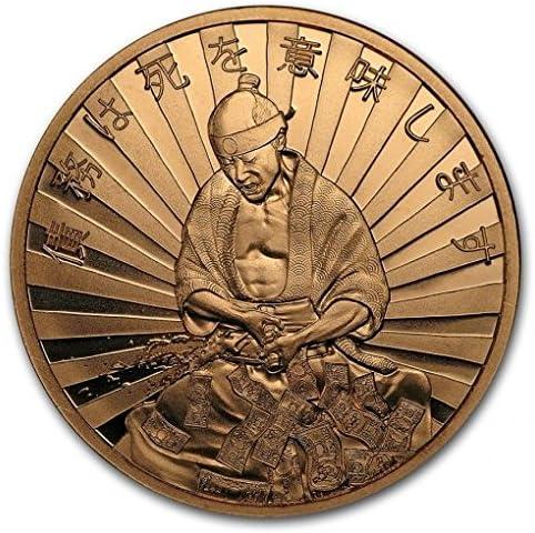 3枚・アメリカ デフレ「負債・借金は死を意味する!?」1オンス・メダリオン・銅貨・銅 .999 赤金 メダル 1 oz カプセル クリアーケース付き