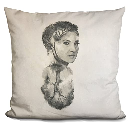 Buy Lilipi Reflect Woodley Decorative Accent Throw Pillow Online At Low Prices In India Amazon In
