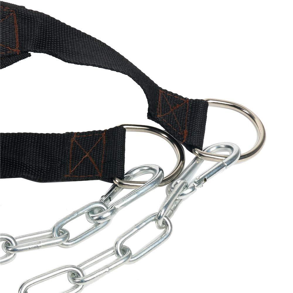 YaeGoo Dip Belt Weight Lifting Pull Up Belt with 34 Steel Chain for Bodybuilding Strength Training Yaemart Corporation
