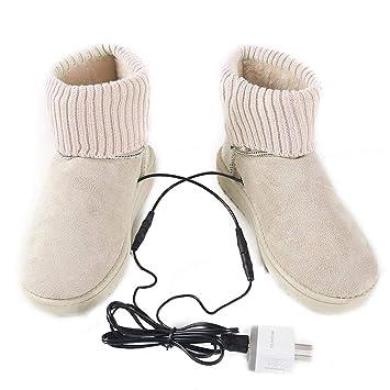 Williamly Zapatos Calefactables Botines De Nieve Elegantes ...